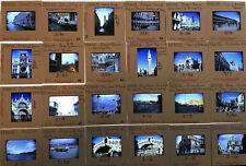 72 x Vintage 35mm Photo Slides, Venice 1965 Amateur & Professional Souvenir Pics
