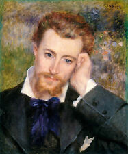 Renoir 1877, Eugene Murer, Canvas Print Fade Resistant HD Art Print or Canvas