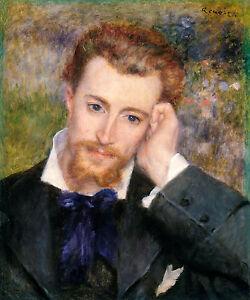 Renoir 1877, Eugene Murer, Canvas Print Fade Resistant HD Art Print or Canvas
