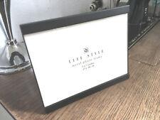 Fotorahmen 13x18cm Moderner Metallrahmen Schwarz stehend Bilderrahmen