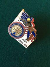 Pennsylvania Union Pin IBEW local 126 Pinback Lapel USA Flag - NOS In Bag! FS