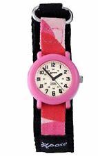 Kids SEKONDA Pink Xpose Watch With Canvas Adjustable Strap - Waterproof RRP £15