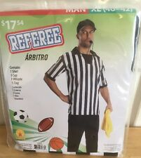 Referee Costume Halloween New Cosplay Men Xl 40-42