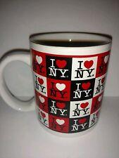 I Love Heart Ny New York Coffee Mug Travel Souvenir Collectible Red Black White