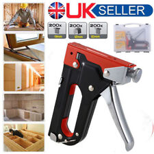 Heavy Duty Staple Gun 3 in 1 Stapler Tacker With Staples Upholstery UK M2