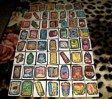 """2012 WACKY PACKAGES ALL NEW SERIES 9 {ANS9} COMPLETE 55 """"SILVER BORDER"""" SET WOW!"""