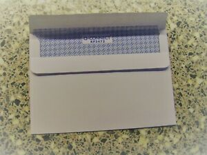 PLAIN ENVELOPES C6 SELF SEAL WHITE 90 gsm WITHOUT WINDOW 162 X 114 mm  10 TO 500
