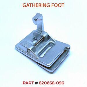 PFAFF GATHERING/ SHIRRING Foot Fits PFAFF Sewing Machines #820668-096