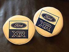 Niebla/conducción de Logotipo de Ford XR Lámpara Luz Cubre CIBIE XR2, XR3i, XR4i RS XR4X4 XR3