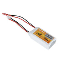 7.4V 1200mAh 2S 25C LiPo Battery JST Plug for RC Helicopter Car Truck Truggy US
