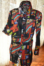 * ADVENTURES DE TOILES * STUNNING DESIGNER COAT DRESS SZ 42/ AU 12 RRP * $356