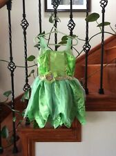 Disney Tinkerbell Fairy Princess Costume Girls 4-6X  Halloween,Play, Birthday