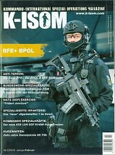 K-ISOM 2/2016 Special Operations Forces Spéciales MAGAZINE commando armée arme