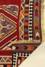 Exclusivo Nómadas Kelim Multa ejemplar Único Alfombra Persa Oriental 2,85 x 1,44