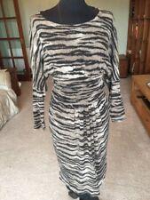 Tiger Stripe Size 12 USA Isabel De Pedro Jumper Dress
