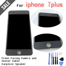 """Black For 5.5""""IPhone7Plus Replacement LCD Touch Screen Digitizer Camera Assembly"""
