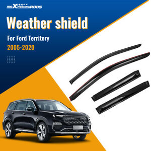 Weather Shields Window Sun Visor Weathershields for Ford Territory 2005-2019