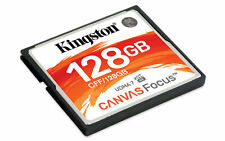 128GB Kingston Canvas Focus CompactFlash Memory Card