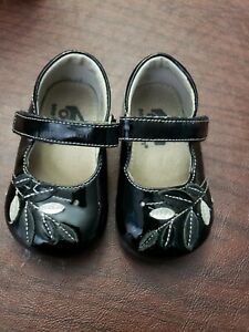 See Kai Run Toddler Girl Black Patent Leather 4