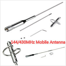 Dual Band UHF/VHF Vertical Car Auto Radio Mobile/Station Antenna 144/430MHz 150W