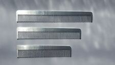 Metal Pocket Comb Professional Quality Hairdressing Barber Metal Comb
