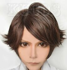 Halloween Haikyuu Oikawa Tooru Karasuno High School Anime Cosplay Costume Wig