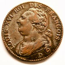 12 Dénier 1793 D François