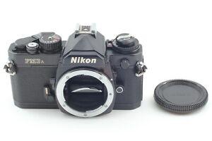 [Mint] Nikon Fm3a, SLR, black, excellent condition, appearance very beautiful