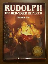 RUDOLPH THE RED-NOSED REINDEER by Robert May HBDJ Golden Anniversary Edition