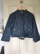 Women's Quicksilver Roxy Jacket Denim Size 8, Extra Small