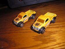 RARE Lot of 2 Vintage Hot Wheel Dodge M80 4x4 Rally Off Road Pickup Trucks