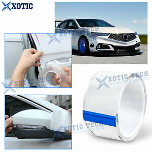 Auto Door Plate Bumper Paint Protective Clear Film For Honda Civic Acura MDX TLX