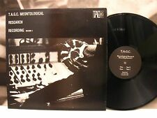 THE ANTI GROUP ( TAG ) MEONTOLOGICAL RESEARCH RECORDING record 1 LP UK 1st PRESS