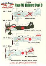 "Lifelike Decals 1/72 NAKAJIMA Ki-27 TYPE 97 FIGHTER ""NATE"" Part 3"