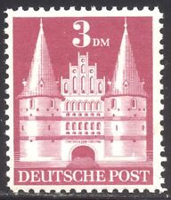 GERMANY #660a Mint NH - 1948 3m Carmine Rose, Type II