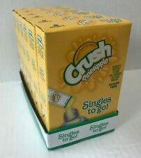 Crush Pineapple Singles To Go 6  Drink Mix 12.8 g 6-Ct (Lot of 6x) = 36 Packs!