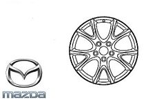 Genuine Mazda MX5 2008-2015 Alloy Wheel Alum Bright 17x7J ONE ONLY 9965-80-7070