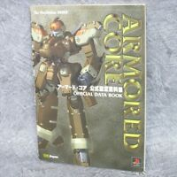 ARMORED CORE Official Data Book w/Papercraft Art Illustration Fan 1997 SB28