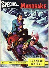 SPECIAL MANDRAKE 46 LE SKIEUR FANTOME  EDITIONS DES  REMPARTS 1967