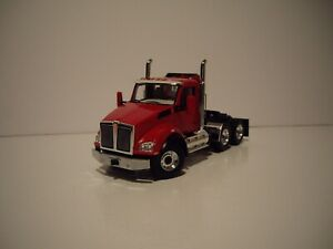 FIRST GEAR 1/50 VIPER RED KENWORTH T880 DAYCAB SAME SCALE AS DIECAST MASTERS