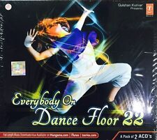 EVERYBODY ON DANCE FLOOR 22 - NEW BOLLYWOOD SOUNDTRACK 2CDs SET - FREE UK POST