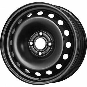 Cerchi in acciaio MAK ACCIAIO MAT BLACK compatibile Fiat GRANDE PUNTO 199 2005>