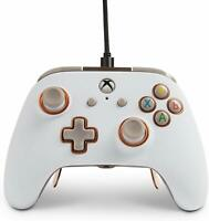POWERA FUSION PRO WIRED CONTROLLER - WHITE - XBOX ONE & WINDOWS 10 - BRAND NEW