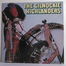 """33T THE GILNOCKIE HIGHLANDERS Disque LP 12"""" SCOTLAND BRAVE Ecosse TRETEAUX 6099"""