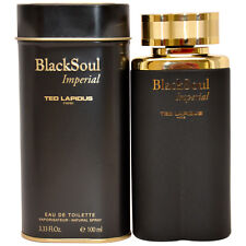 Black Soul Imperial by Ted Lapidus for Men - 3.33 oz EDT Spray