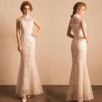 NEW Evening Formal Party Ball Gown Prom Bridesmaid Lace Hosting Dress TSJY1399