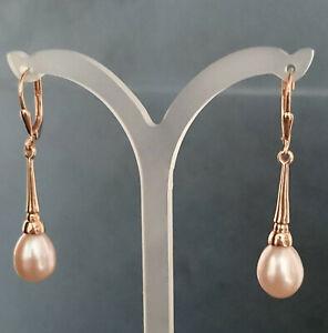 Designer-Ohrhänger von Kerstin Michaelsen, 925 Silber 1 micron rosé vergoldet