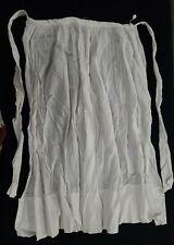 Vintage Cotton Half Apron Late 19th Century