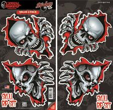 LETHAL THREAT Motorcycle Scooter Snowboard Car Decal STICKER SET SB37719