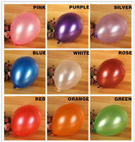 14 Colours 12 Inch Super Metalic Pearls Latex Balloons Extra Thick AAAAA Quality